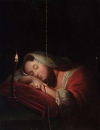 Спящая красавица со свечой