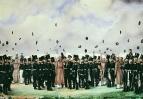 Встреча в лагере лейб-гвардии Финляндского полка великого князя Михаила Павловича