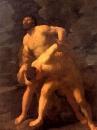 Геракл, борющийся с Ахелоем