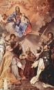 Мадонна на троне со святыми-покровителями