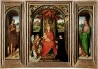 Малый триптих Святого Иоанна Крестителя