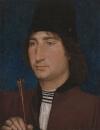 Портрет мужчины со стрелой