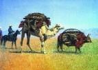 Перекочевка киргизов. 1869-1870