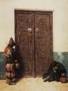 У дверей мечети. 1873