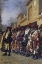 Хор дервишей, просящих милостыню. Ташкент. 1870