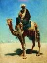 Араб на верблюде. 1869-1870