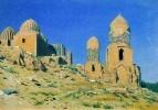 Мавзолей Шах-и-Зинда в Самарканде. 1869-1870