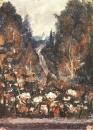 Дорога в Хотьково. 1884