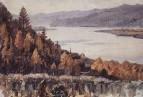 Енисей у Красноярска. 1909