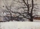 Зима в Москве. 1884-1887