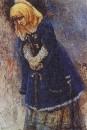 Боярышня в синей шубке. 1887