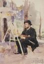 Портрет И.С.Остроухова. 1884
