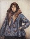 Портрет Л.Т.Маториной. Казачка. 1892