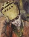 Портрет молодой женщины в кокошнике. 1892