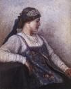 Портрет Н.Ф.Матвеевой. 1909