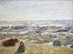 Весна на Мирской горе 1940-е