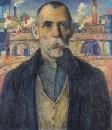Портрет ударника (Краснознаменец Жарновский). 1932
