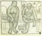 В бане. 1910-1911