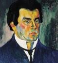 Автопортрет. 1910-1911