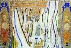 Эскиз занавеса к опере П.И. Чайковского Евгений Онегин. 1925