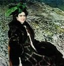 Портрет балерины Елены Александровны Смирновой. 1910