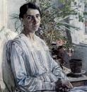 Портрет Л.Я.Рыбаковой. 1920