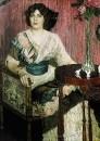 Портрет певицы Валентины Ивановны Кузы. 1900-е
