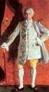Портрет певца Д.А. Смирнова в роли кавалера де-Грие в опере Ж.Массие Манон. 1909