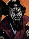 Портрет Ф.И.Шаляпина в роли Бориса Годунова. Этюд к картине. 1912