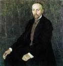 Портрет художника Николая Константиновича Рериха. 1907