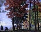 Осень (Над городом). 1918
