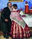 Пасхальный обряд (Христование). 1916