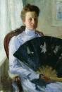 Портрет А.Н.Протасовой. 1900