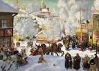 Масленица (Масленичное катание). 1919