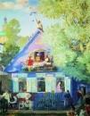 Голубой домик. 1920