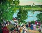 Гулянье на Волге. 1909
