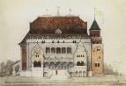 Проект русского павильона на Парижской выставке. 1898
