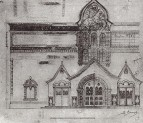 Проект фасада Третьяковской галереи 2
