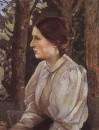 Портрет Татьяны Викторовны Васнецовой, дочери художника. 1897