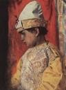 В костюме скомороха. 1882