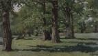 Дубовая роща в Абрамцеве. 1883