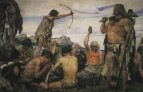 Каменный век. Деталь фриза2. 1882-1885