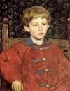 Портрет Владимира Васнецова, сына художника. 1899