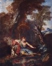 Narcissus in Love with his Image. 1728 г.