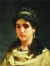 Портрет молодой римлянки. 1889