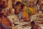 Брак в Кане Галилейской. Деталь
