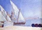 Collioure, the Balancelles, 1887