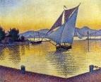 The Port at Sunset, Saint-Tropez, 1892