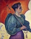 Woman with a Parasol (Berthe Signac), 1893