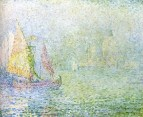 Venice, Fog, 1908